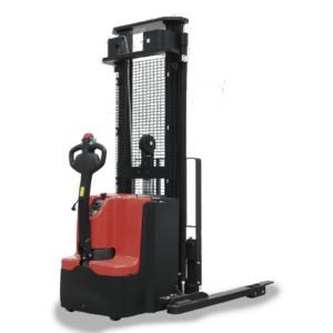 apilador electrico con patas de apoyo noblelift PS12 16 18 TSL