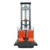 Apilador eléctrico dúplex de 1000kg de Noblelift importado por Mondial Forklift PSE10SL